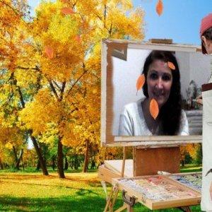 foto mia en otoño