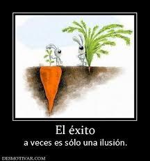la ilusión al éxito